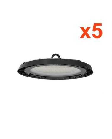 Cloche Highbay Industrielle UFO 120° 200W (Pack de 5)