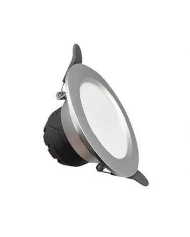 Spot LED Downlight Encastrable 6W Rond ARGENT