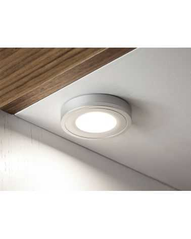 Spot LED en saillie 4W Ø70 mm ROND