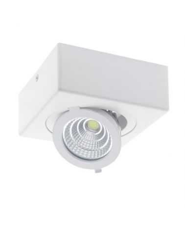 Spot LED en saillie Downlight LED 12W COB Ø120mm orientable