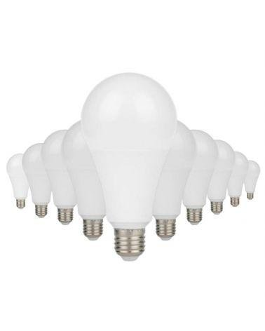 Ampoule E27 LED 13W A60 220V 230° (Pack de 10)