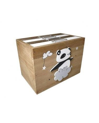 Box picture Panda with 4 albums 10 x 15 cm