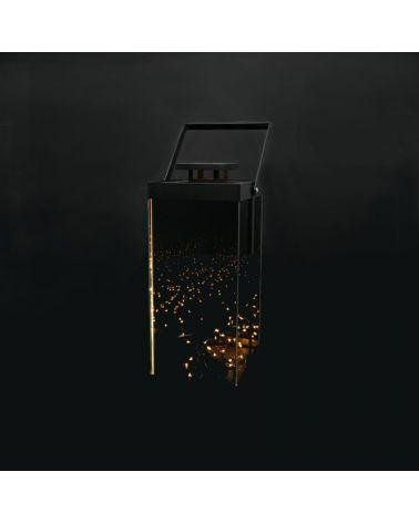 Design LED Lantern with 4 side mirrors