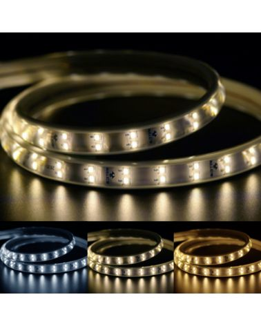 LED 220V Double Row tape 2835 IP65 (per meter)