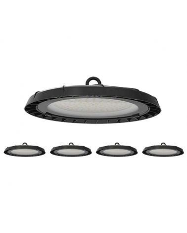 Cloche Highbay Industrielle UFO 90° 100W (Pack de 5)