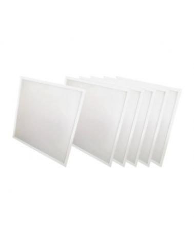 WHITE 60W LED panel 60x60 (6-Pack)