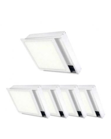 Kit for stud WHITE LED panel 30x30 Slim (Pack of 5)