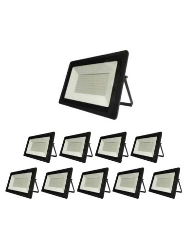 Exterior LED projector 200W BLACK IP65 (Pack of 10)