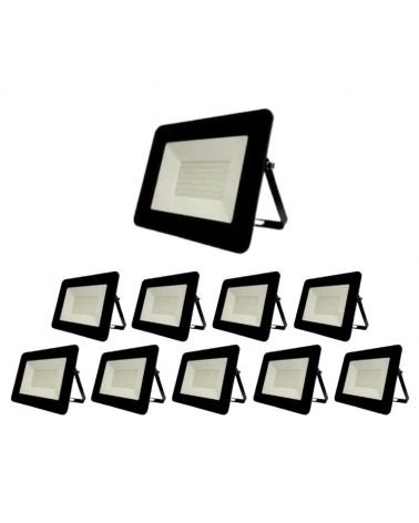 Exterior LED projector 50W IP65 BLACK (Pack of 10)