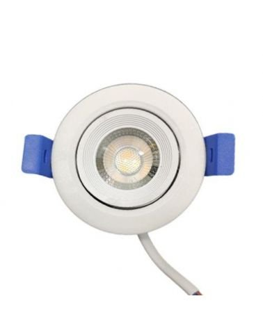 Spot LED Encastrable 7W 38° Orientable