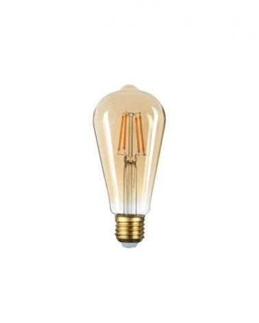 Filament Bulb E27 LED Dimmable 6W ST64 Edison