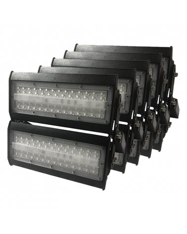 Industrial LED Projector Highbay 100W IP65 (5-Pack)