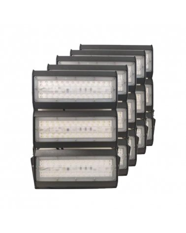 Industrial LED Projector Highbay 150W IP65 (5-Pack)