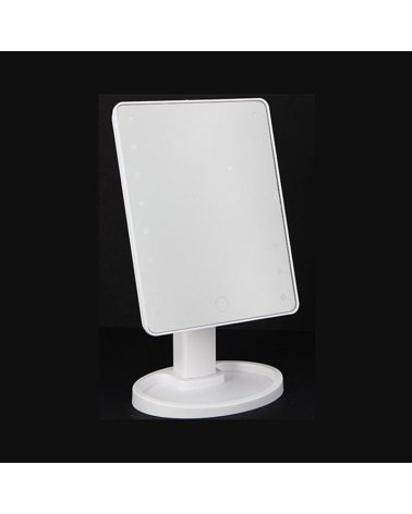 16LED Variable Touch Makeup Mirror 17x12x26 cm