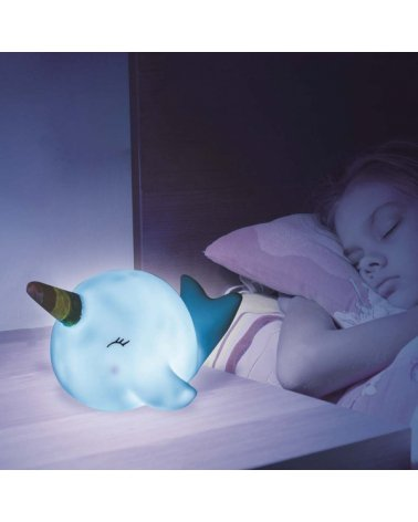 Nightweight whale for battery bedroom