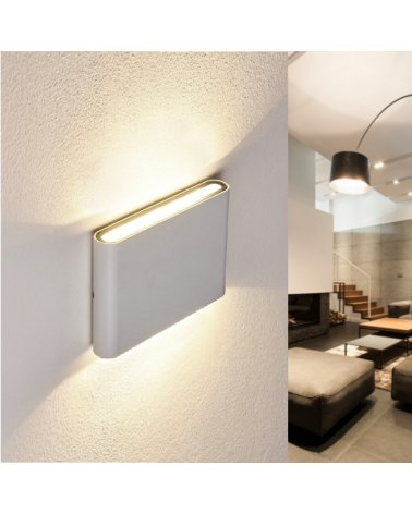 Wall Lamp LED 10W IP44 WHITE