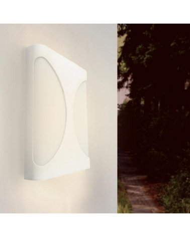 Wall Lamp LED 18W IP44 WHITE