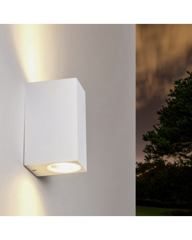 Wall Lamp LED 6W IP44 Double Beams WHITE