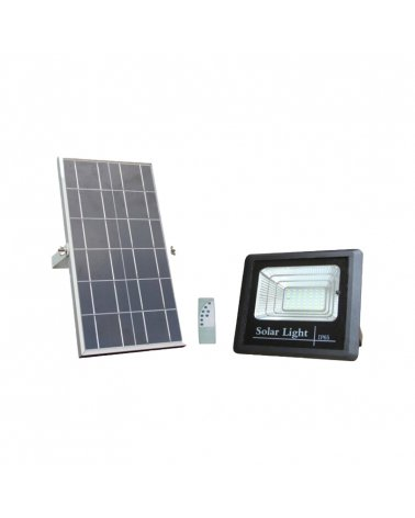 Solar LED Projector 20W 6.4V 11Ah