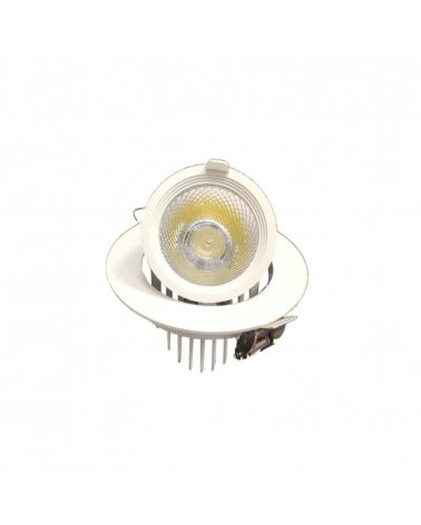 Spot LED Round Recessed Adjustable 10W WHITE