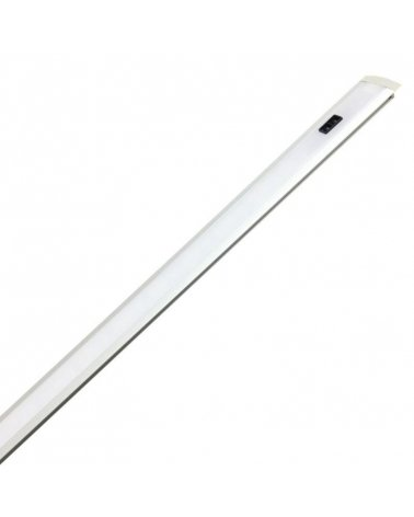 Integrated LED profile 60cm 7.5W 12V Recessed with infrared sensor