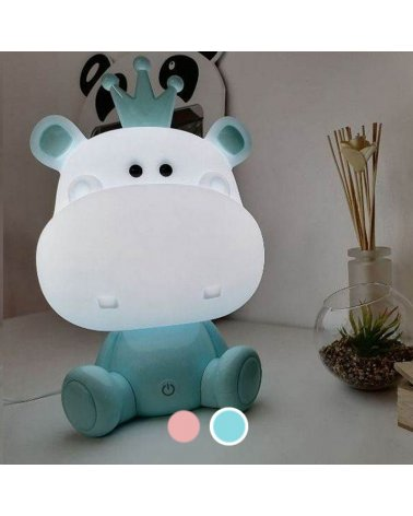 LED night for room Hippopotamus (+ USB cable)