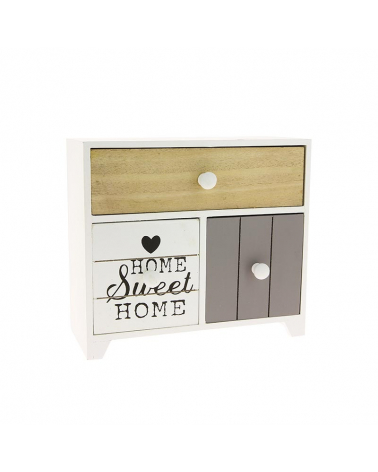 Small chest 2 drawers 13.5x12x24cm