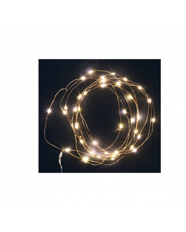 Nano LED Bright Garland 4.30m 40LED IP20 (batteries not included)